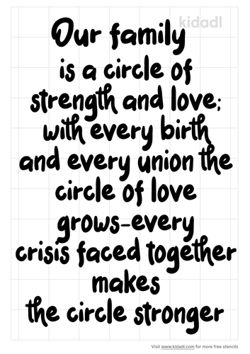 our-family-poem-circle-stencil