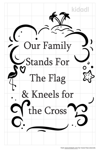 our-family-stands-for-the-flag-stencil