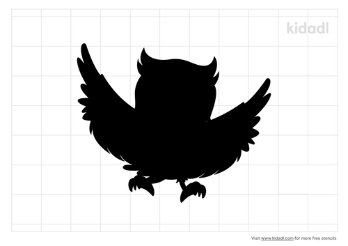 owl-wing-stencil