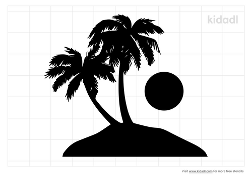 palm-tree-and-sunset-stencil