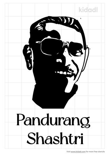 pandurang-shashtri-stencil