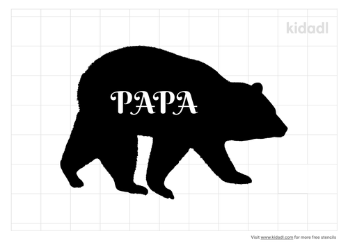 papa-bear-stencil