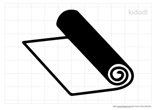 paper-roll-stencil