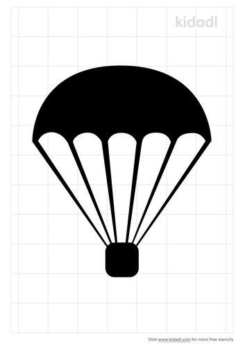 parachute-stencil