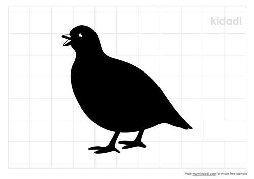 partridge-stencil