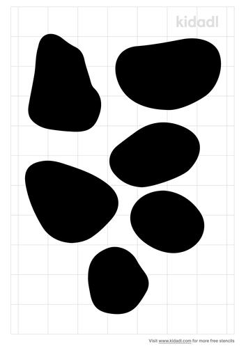 pebble-stencil