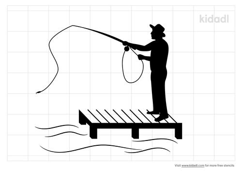 peir-fishing-stencil