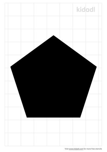 pentagon-stencil