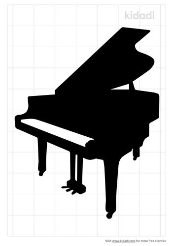 piano-stencil