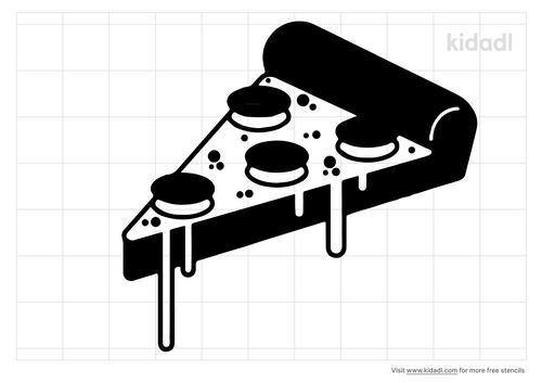 pizza-stencil