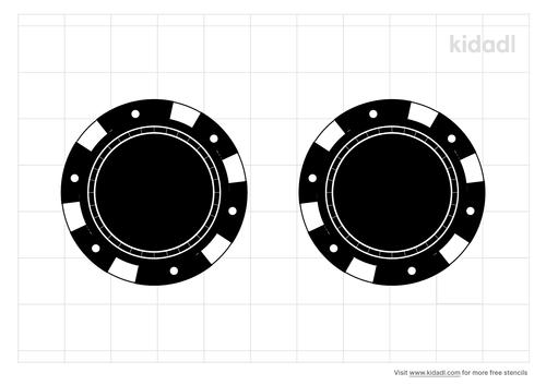 poker-chip-stencil