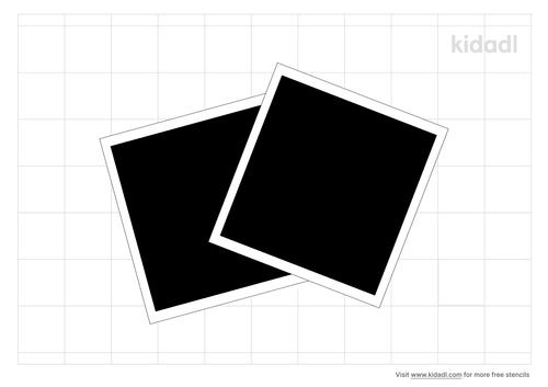 polaroid-stencil