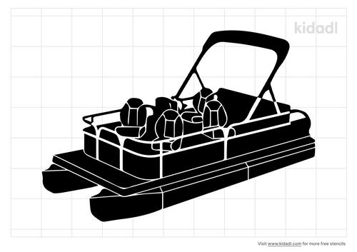 pontoon-boats-stencil