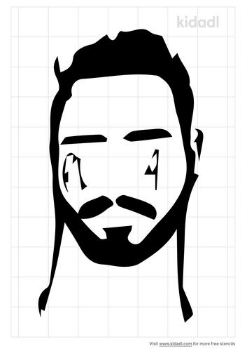 post-malone-face-stencil