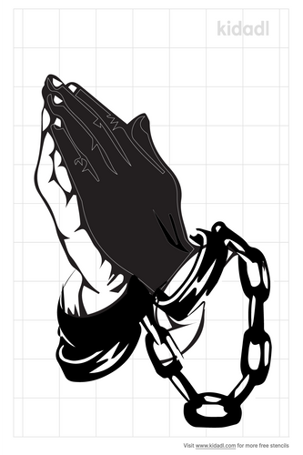 praying-hands-with-cuffs-stencils