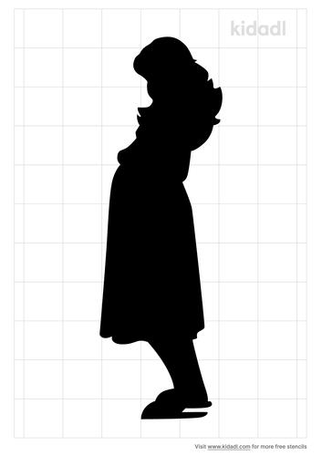 pregnancy-stencil
