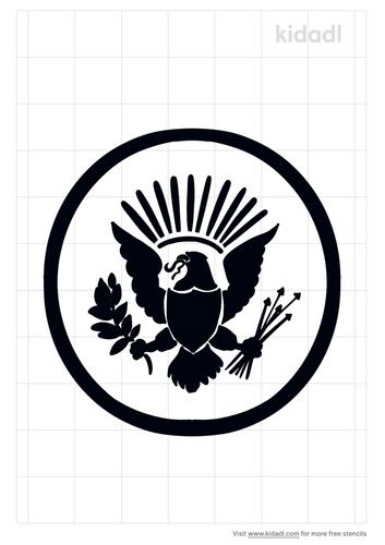 presidential-seal-stencil