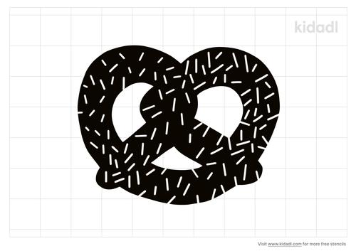 pretzel-stencil