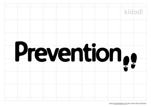 prevention-stencil