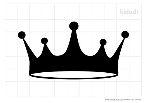 princess-crown-stencil