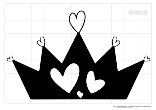 princess-heart-stencil