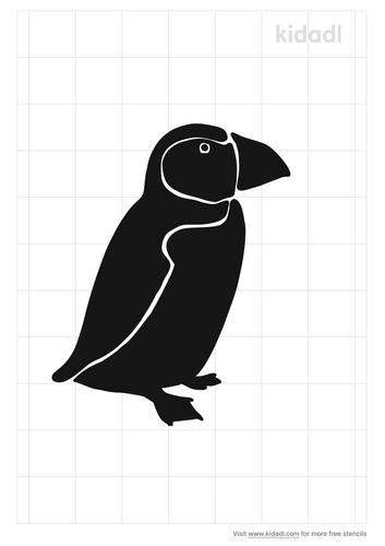 puffin-stencil