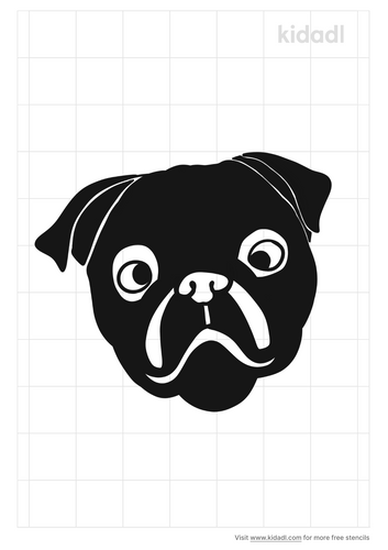 pug-stencil