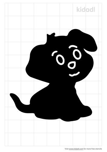 puppy-stencil