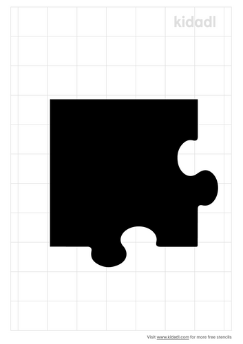 puzzle-piece-corner-stencil