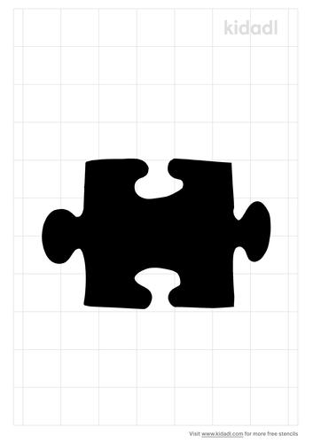 puzzle-piece-stencil