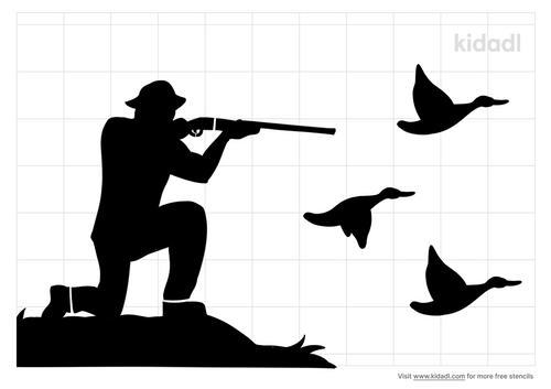 quail-hunting-stencil
