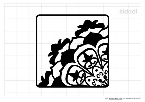 quarter-mandala-stencil