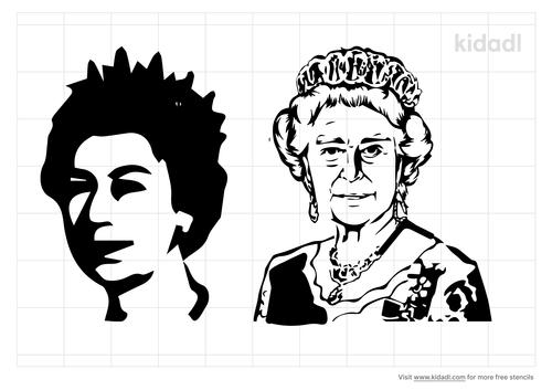 queen-elizabeth-stencil