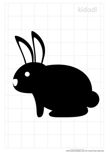 rabbit-stencil-art