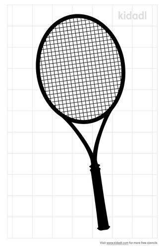racquet-stencils
