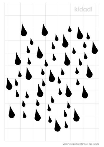 rain-stencil