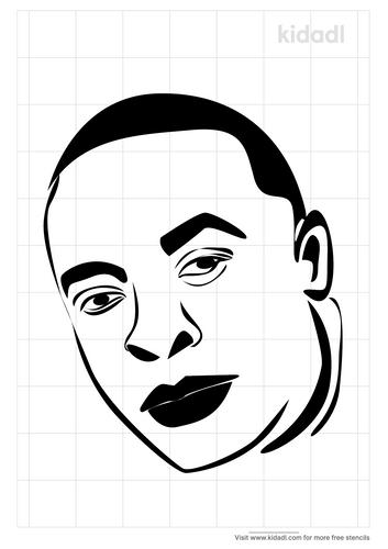 rappers-dr-dre-stencil