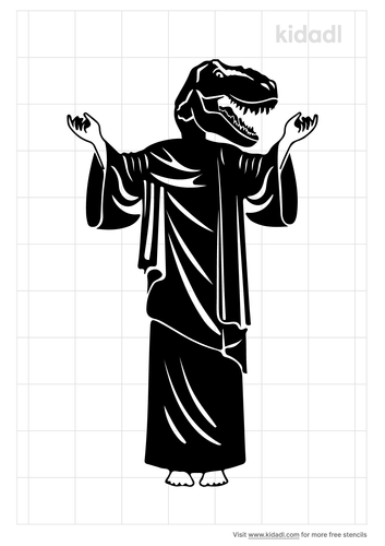 raptor-jesus-stencil