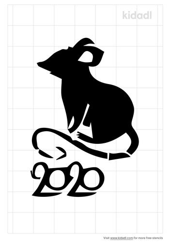rat-chinese-newyear-stencil