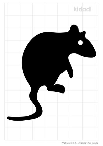 rat-face-looking-down-stencil
