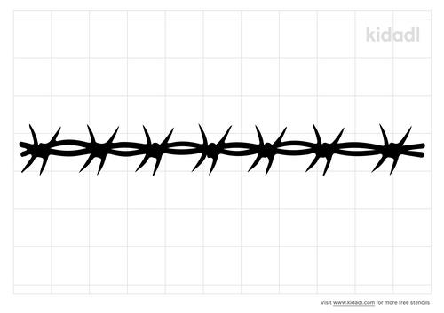 razor-wire-stencil