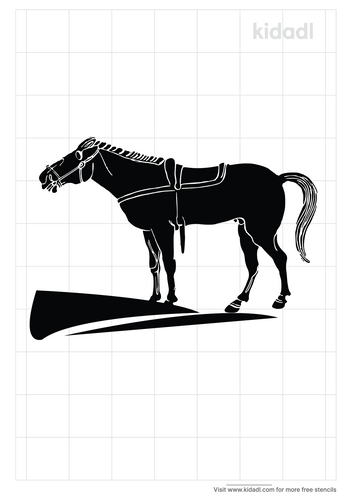 realistic-horse-stencil-pyrography