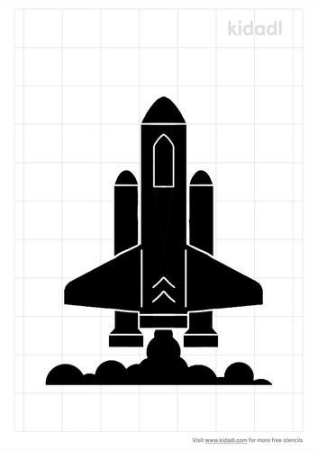 realistic-mars-rocket-stencil