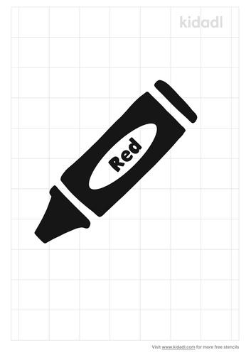 red-crayon-stencil