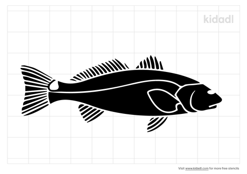 redfish-stencil