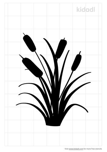 reeds-stencil