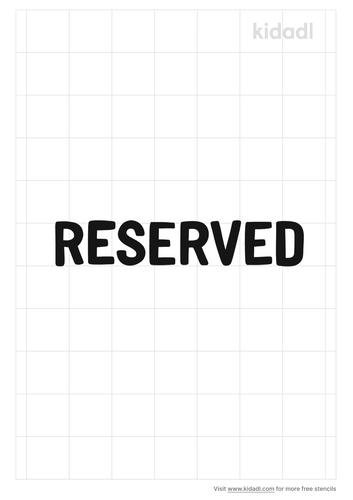 reserved-stencil