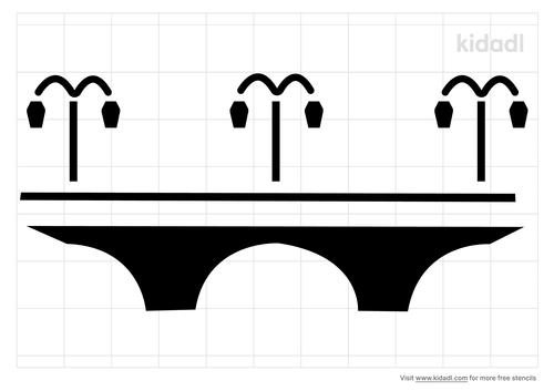 retro-arch-bridge-stencil