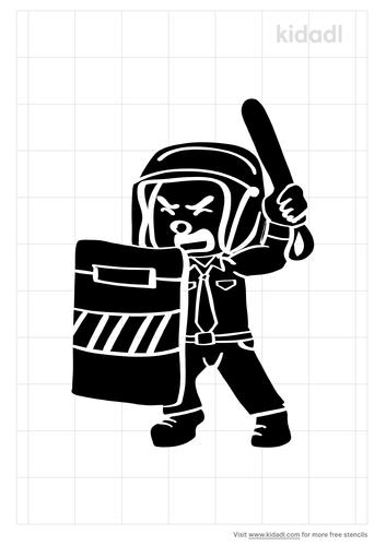 riot-cop-stencil