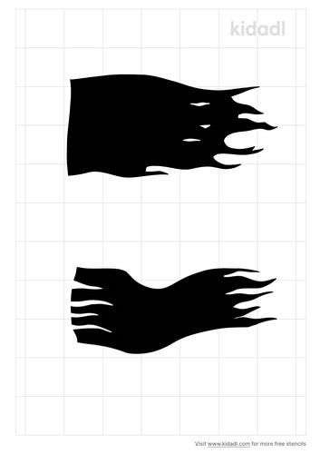 ripped-flag-stencil